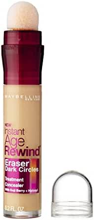 Maybelline New York Instant Age Rewind Eraser Dark Circles Treatment Concealer, Light 120, 0.2 fl. oz.