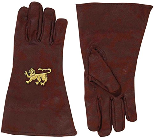 - Forum Novelties Party Supplies Unisex-Adults Medieval Gloves, Brown, Standard, Multi, Multicolor