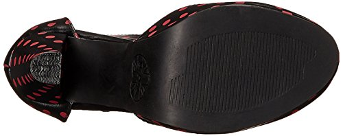 k Women's u Shoes T Heel Dot Polka Black Starlet qAg5Sxpw