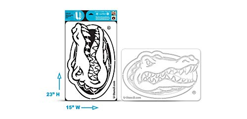 - NCAA Florida Gators Multi-Purpose StencilNCAA Florida Gators Collegiate Gator Head Multi-Purpose Stencil, White, One Size