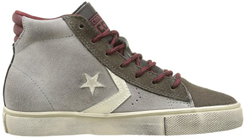 Adulto Converse Lth Pro Mid Black Dust Vulc Grey Suede Leather Sneaker Unisex wqFwH8gx