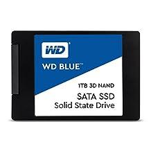 """WD Blue 3D NAND 1TB PC SSD - SATA III 6 Gb/s 2.5""""/7mm Solid State Drive - WDS100T2B0A"""