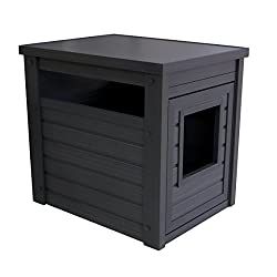 Age Pet Loo Litter Box Cover and End Table (Espresso)
