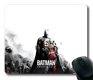 Customizablestyle Batman Arkham City - Batman & Harley Mousepad, Customized Rectangle DIY Mouse Pad