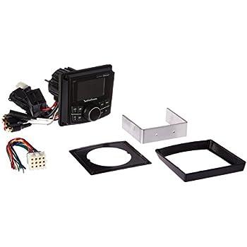 """Rockford Fosgate PMX-2 Punch Marine Compact AM/FM/WB Digital Media Receiver 2.7"""" Display"""