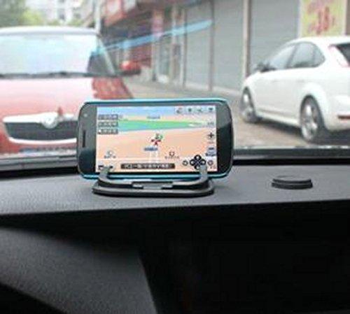 GPS Coins 18x11cm Keys and Other Accessories Duttek 2-Slot Rubber Car Antislip Anti Slide Sticky Grip Gel Mat Cell Phone Mount Holder Mat M Holds Cell Phones Glasses