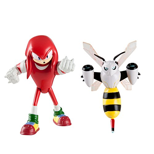 Sonic Boom Small Figure 2 Pack, Knuckles And Beebot ()