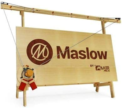 Maslow CNC Router Kit – Basic Bundle – Engraving Wood Milling Machine – 4×8 foot high performance DIY with Z-Axis