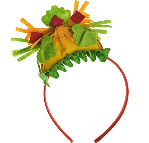 Amscan 399826 Party Supplies Mini Taco Headband, 8