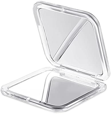 Compact Mirror, Jerrybox Double-Sided Makeup Mirror, 10 x ...