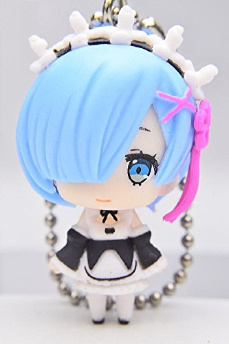 Re: Zero Starting Life in Another World: Rem Figure Keychain Mascot ~ Rem with Uniform (Mascot Uniforms)