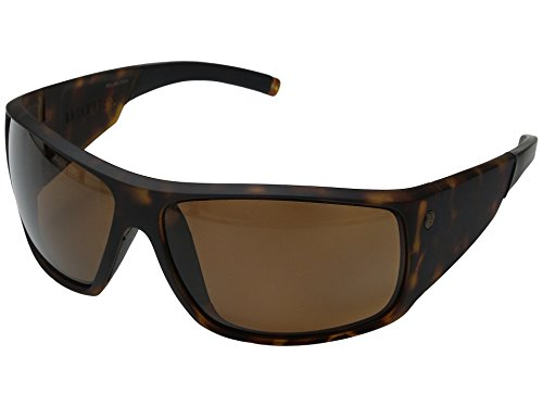 Electric Backbone S Sunglasses Matte Tortoise with Melanin Bronze Polarized - Electric Backbone Sunglasses