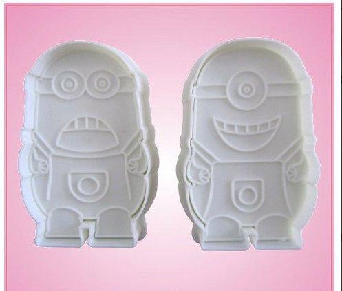 Minion Despicable Me Cookie Cutter Set]()