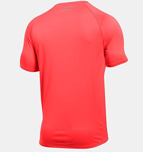 Under Armour Men's Speed Stride Short Sleeve, Marathon Red, X-Large by Under Armour (Image #2)