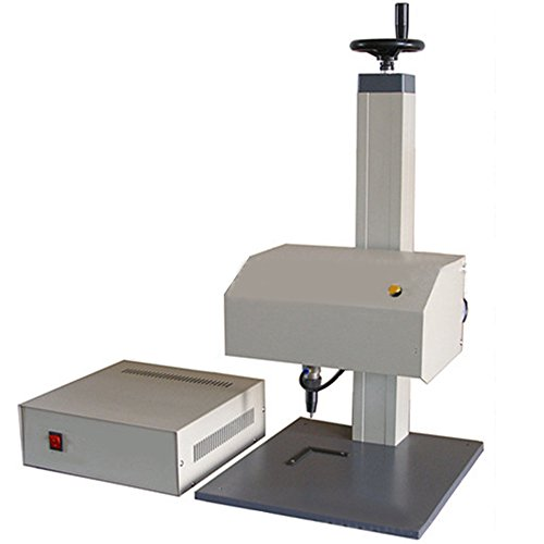 Genmine Pneumatic Marking Machine, Engraving Machine Tagging Machine for Nameplate, Sign 110V Metal Printing Tools (Marking area: 170100 (mm)