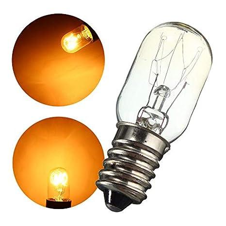 Mini nevera luces bombilla de Edison E14 SES 15 Wrefrigerador ...