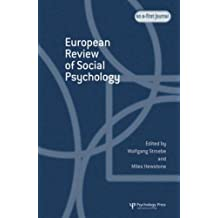 European Review of Social Psychology: Volume 16