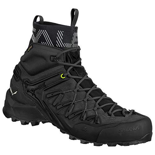 Salewa Wildfire Edge GTX Mid Hiking Boot - Men's Black/Black, 9.0 (Best Hiking Boots Uk 2019)