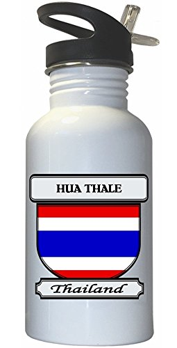 hua-thale-thailand-city-white-stainless-steel-water-bottle-straw-top