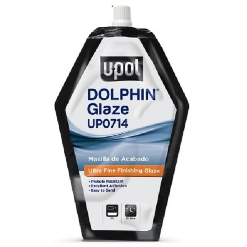 U-Pol Products 0714 DOLPHIN GLAZE Self-Leveling Polyester Finishing - 440ml