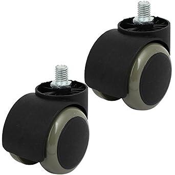 Rosca DE 2 pulgadas de diámetro de la PU de Doble rueda Con rosca ...