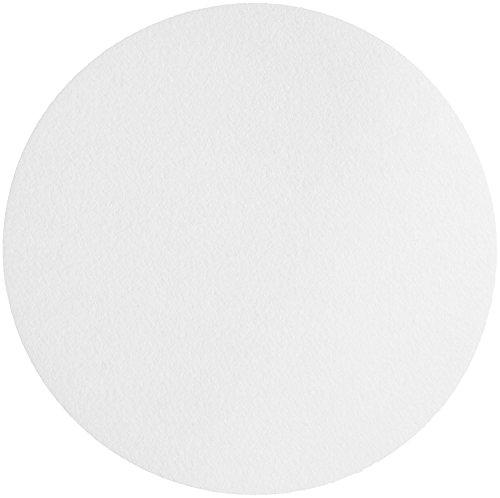 Whatman 4712B50PK 1001240 Quantitative Filter Paper Circles, 11 μm, 10.5 s/100 ml/sq in Flow Rate, Grade 1, 240 mm Diameter (Pack of 100) ()
