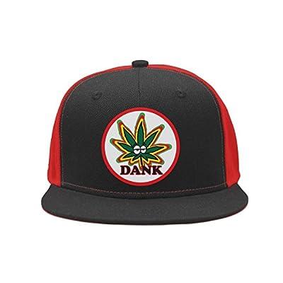 dank Outdoor Cannabis Flat Hat Trucker Hiking Lightweight