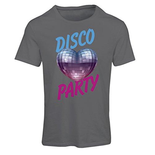夢直立スクラッチ女性用Tシャツ ディスコパーティ、音楽愛好家向け
