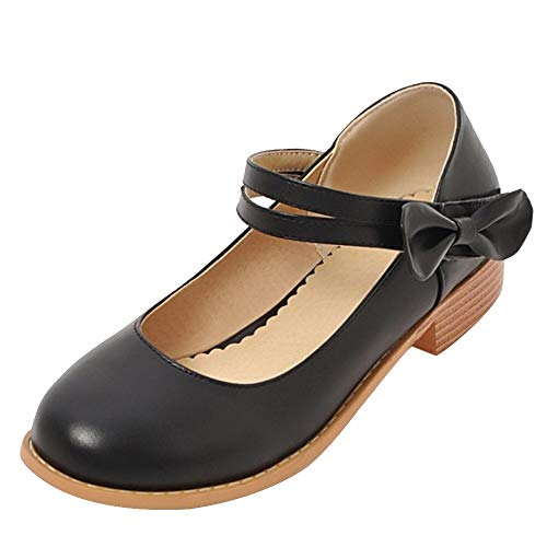 Plates Coolcept Ballerines Chaussures Habillées Scratch Noir Femmes rqOqIwC