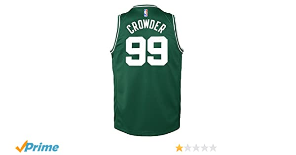 Amazon.com   Nike Jae Crowder Boston Celtics Green Icon Swingman Jersey  Youth (S-XL)   Sports   Outdoors eb394e224