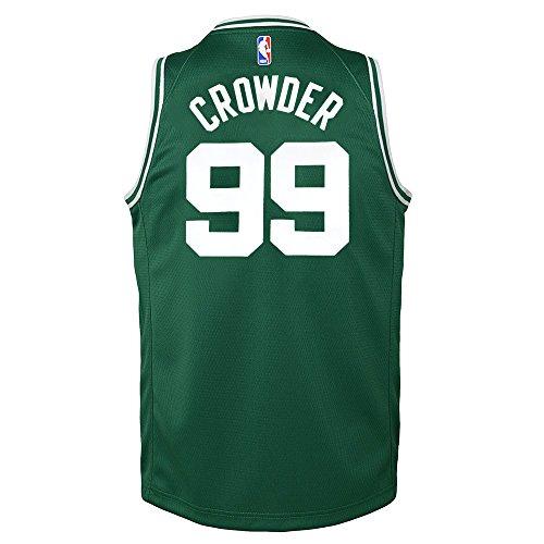 Authentic Boston Celtics Green Jersey - NIKE Jae Crowder Boston Celtics Green Icon Swingman Jersey Youth (S-XL)