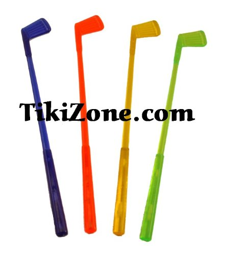 16 Golf Club Swizzle Stir Sticks by UM