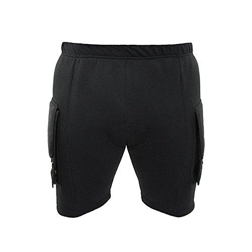 DGX Neoprene Pocket Shorts, Medium by DGX