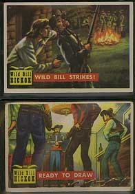 """Topps """"Roundup"""" Nonsports (Old West) Trading Card Set"""