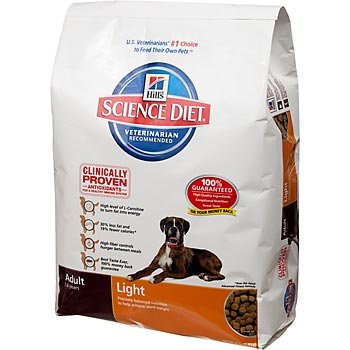 Hill's Science Diet Adult Light Dry Dog Food - 35-Pound Bag