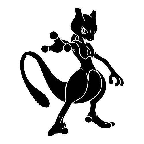Pokemon Go Mewtwo, Dark Blue, 6 Inch, Die Cut Vinyl Decal, For Windows, Cars, Trucks, Toolbox, Laptops, Macbook-virtually Any Hard Smooth Surface Photo - Pokemon Gaming