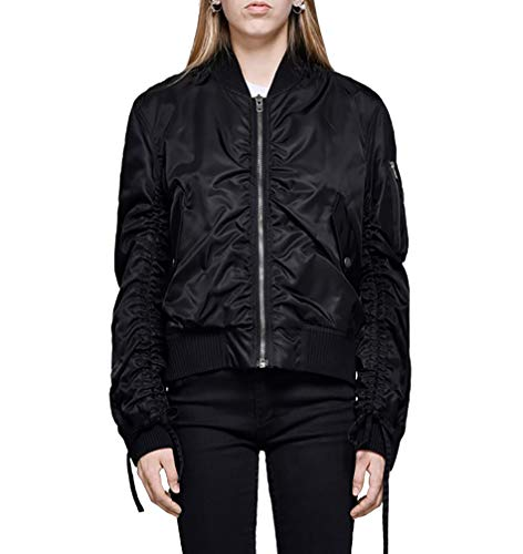 Kenzo Donna Giacca F852bl0785ag99 Poliammide Nero Outerwear pp4xTqwS