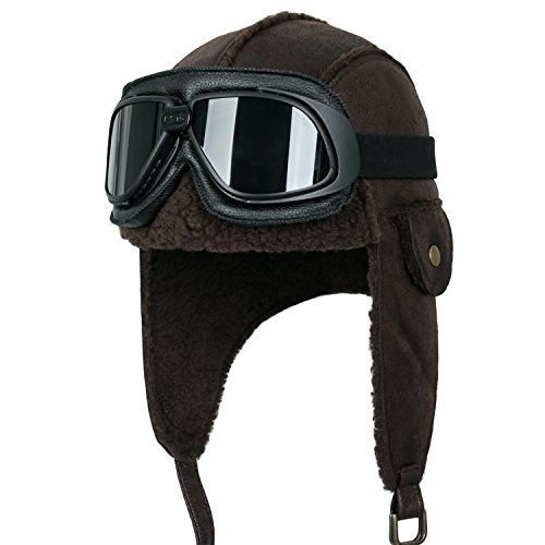 Bomber Leather Hat - 4