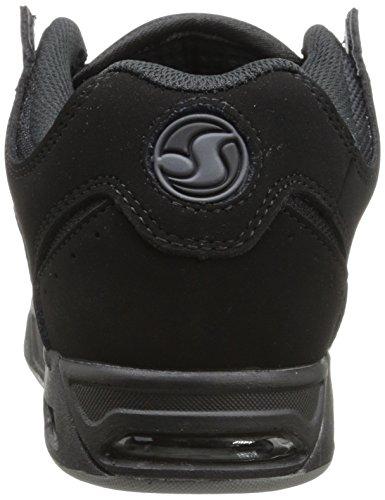 DVS Black Fashion nubuck Up Heir Men's Lace Militia Sneaker rw0qr7SO