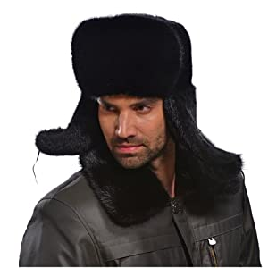 Deals For Ferrand New Real Genuine Mink Fur Shapka Ukansha Russian Trapper Hat  Men s MNS05 Economy size - 58dbbc7ddf55