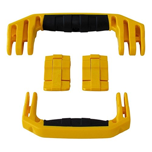 2 Yellow Replacement Handles / 2 Latches for Pelican 1510 or 1560. Customize your Pelican Case.