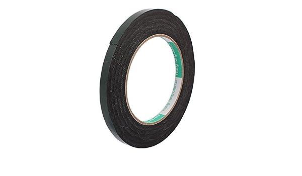 eDealMax 8 mm x 0, 5 mm Negro Doble cara auto-adhesivo de la Cinta de espuma de la esponja 10M Longitud: Amazon.com: Industrial & Scientific