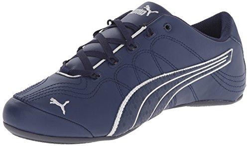 Puma Soleil V2 Comfort Diversión zapatilla de deporte de moda Peacoat/Puma Silver