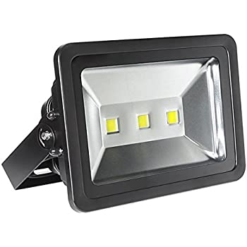 This Item LE Super Bright Outdoor LED Flood Lights, Daylight White, 6000K,  Security Lights, Floodlight (150W)