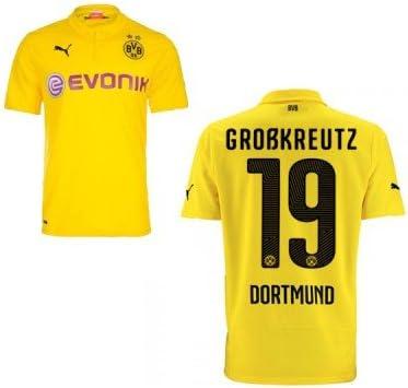 Puma BVB Borussia Dortmund, terza Maglia da uomo 2014/2015 ...