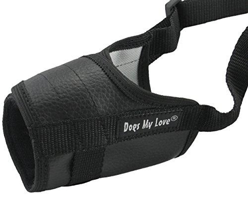4.5 Snout - Adjustable Dog Muzzle 6 Sizes Black (XXS: 4.5