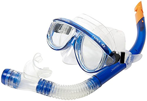 NATIONAL GEOGRAPHIC Snorkeler Tuna 4 S Combo, Blue - Geographic National Tuna