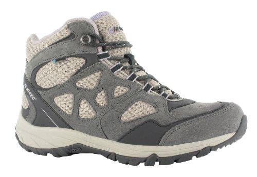 Hi-Tec Halona Mid Wp W' - Zapatillas de montaña Mujer Gris (Grau (PEWTER/OAT/LILAC 052))