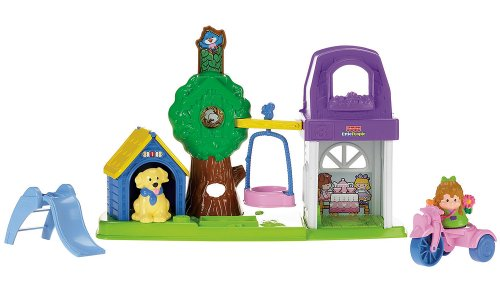 Fisher Price Little People Discover Backyard