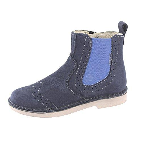 Ricosta Mädchen Denisa Chelsea Boots Blau (See)